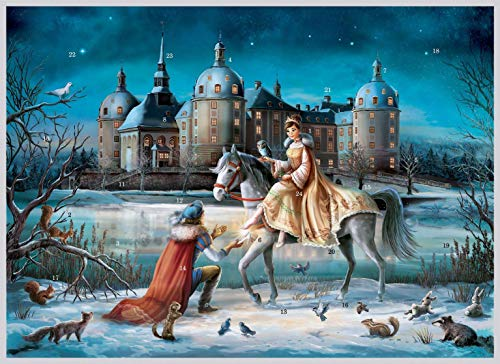 "Adventskalender ""Moritzburg"": Papier-Adventskalender"
