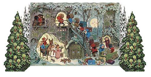 Adventskalender ¿Zwergleins Weihnacht¿: Faltkalender zum Aufstellen.