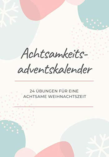 amazon Achtsamkeitsübungen Adventskalender