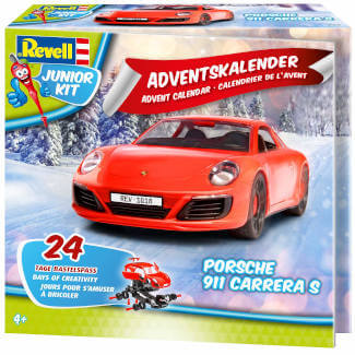 amazon Adventskalender Revell Porsche 911 Carrera S