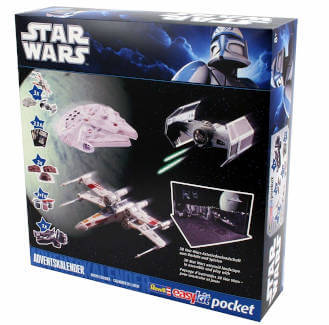 amazon Adventskalender Revell Star Wars Spielbrett 2019