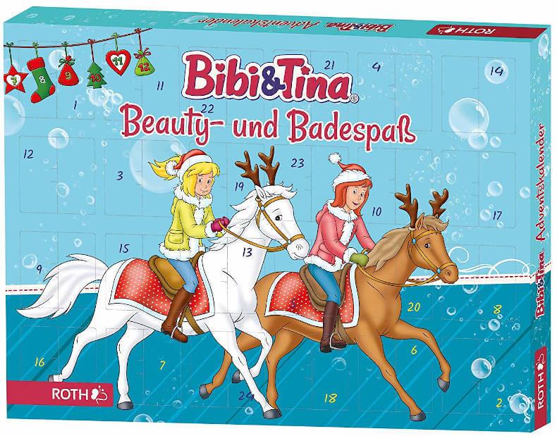 amazo Bibi und Tina Beauty- und Badespaß Adventskalender