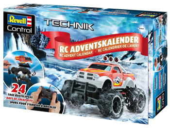 amazon Revell Control Truck Adventskalender 2018