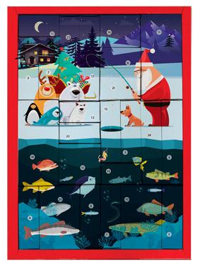 Adventskalender Savage Gear DAM Weihnachtskalender Angelkalender Anglerkalender