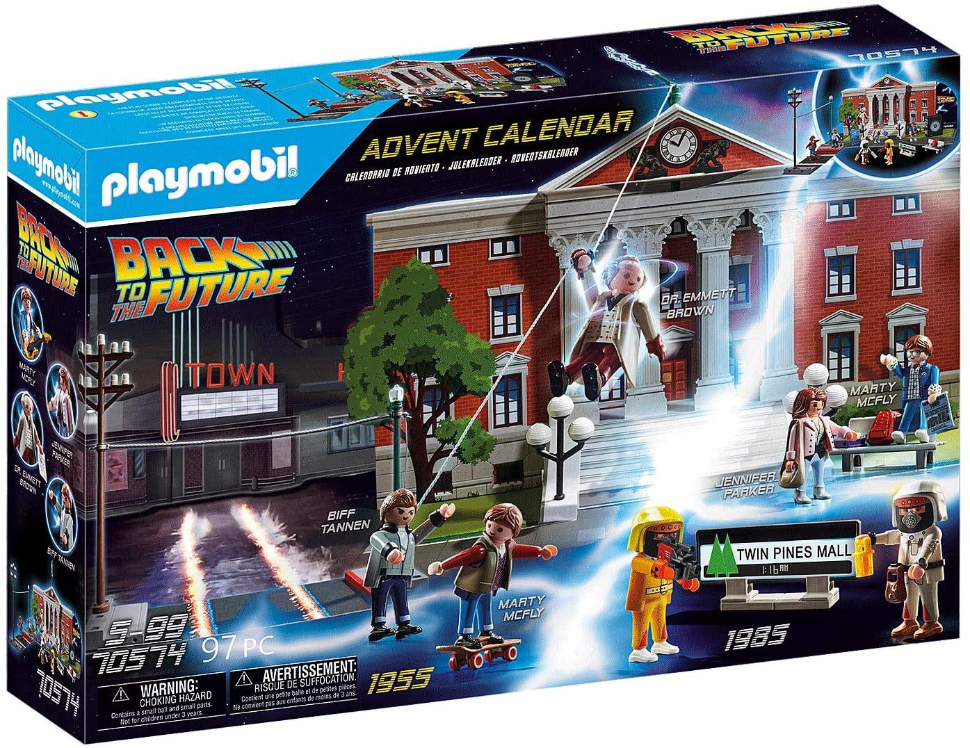 Playmobil Back To The Future Advent Calendar 2020