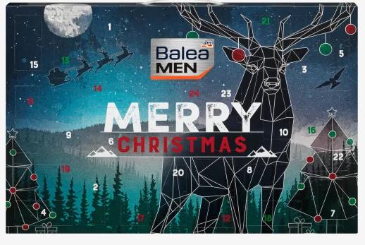 "Balea MEN Adventskalender ""merry christmas"" 2021"