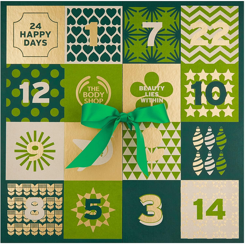 The Body Shop 24 Happy Days Advent Calendar