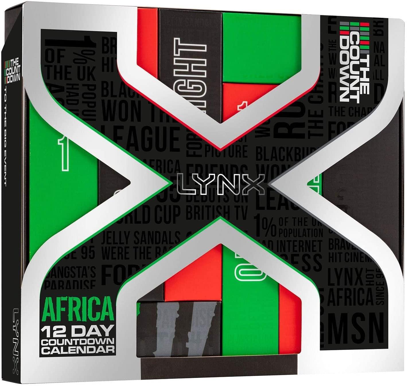 Lynx Africa 12 Day Countdown Advent Calendar