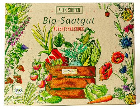 BIO Alte Sorten Saatgut Adventskalender
