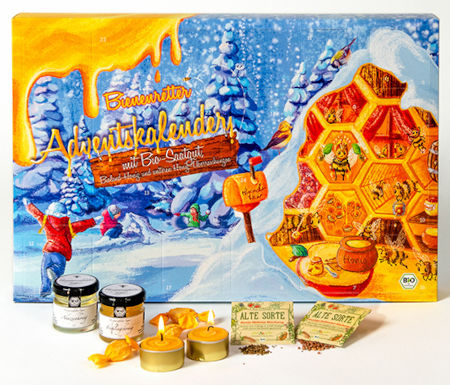BIO Saatgut & Honig Adventskalender