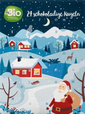 dmBio Schokokugel Adventskalender 2020