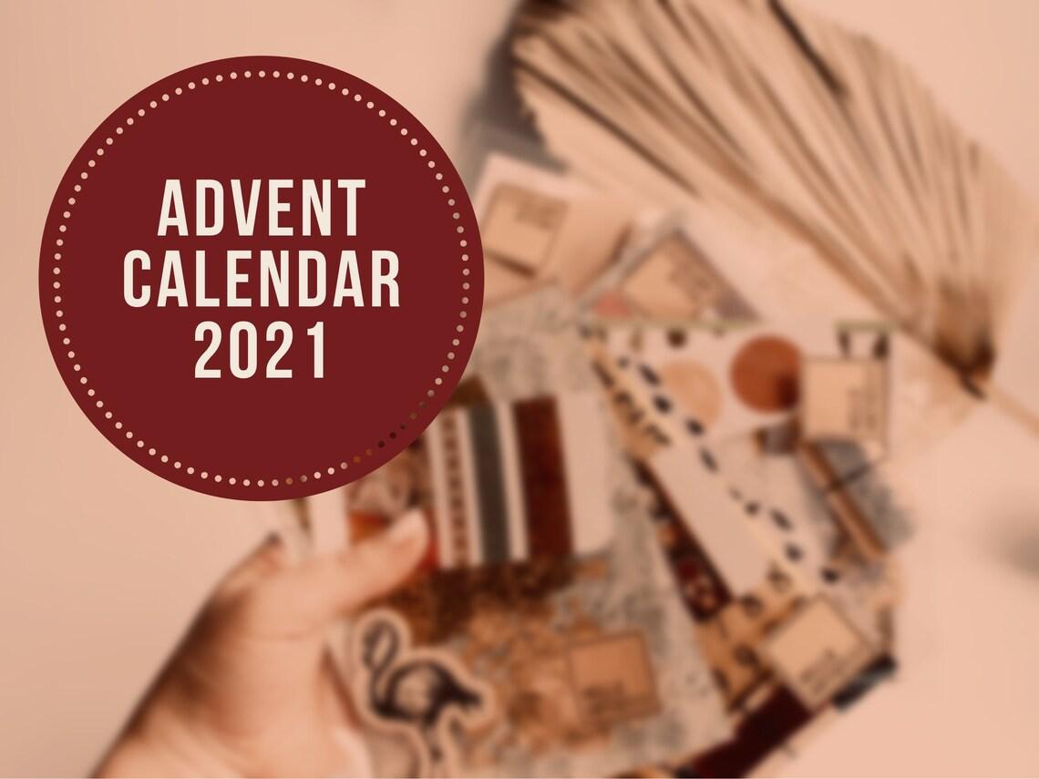 Bulletjournal Adventskalender 2021