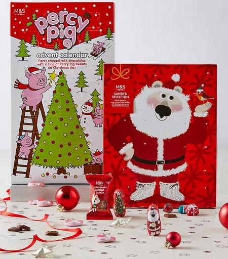 Percy Pig™ & Santa's Selection Advent Calendars