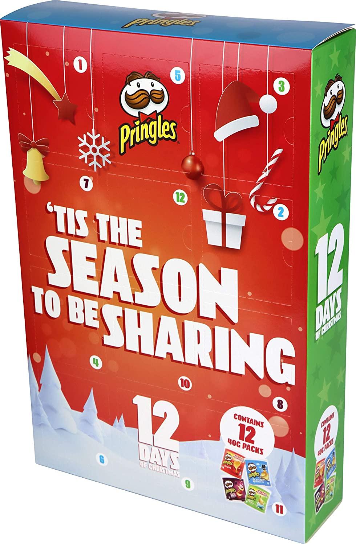 Merry Pringles 12 Days Advent Calendar