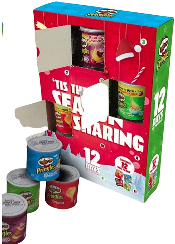 Pringles 12 Days Christmas Calendar 2020
