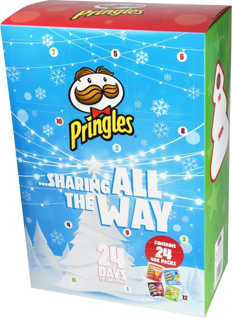 Pringles 24 Days Advent Calendar