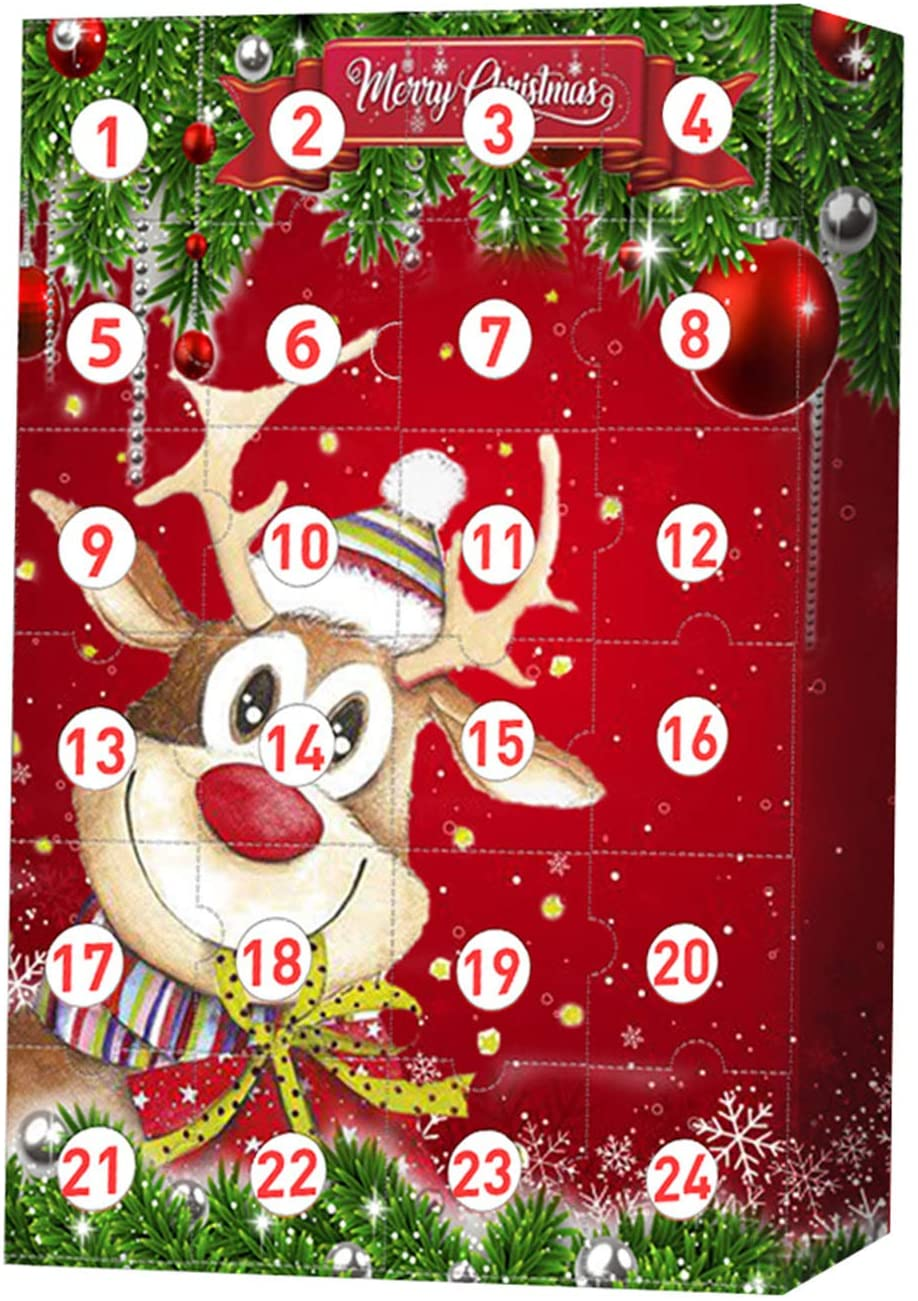 Christmas Elk Advent Calendar 2020