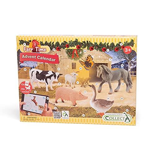 CollectA Adventskalender Bauernhof & Pferd