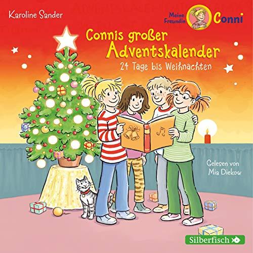 Connis großer Adventskalender (Meine Freundin Conni - ab 6): 24 Tage bis Weihnachten. Ein tolles Adventskalenderhörbuch zum Verkürzen der Wartezeit bis Heiligabend: 2 CDs
