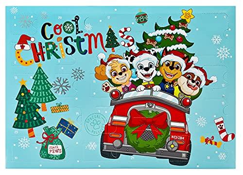 Undercover PPBT8024 PAW Patrol Adventskalender für Kinder, Mehrfarbig
