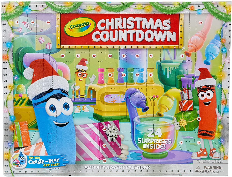 Crayola Christmas Advent Calendar