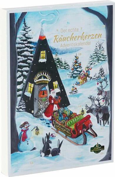 Crottendorfer Räucherkerzen Adventskalender 2019