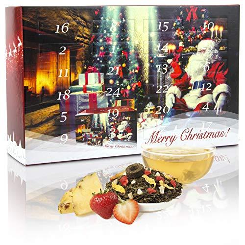 """C&T Tee Adventskalender 2020 """"Winter""""   24 winterliche Tees aus aller Welt   3 Teekannen pro Sorte   Weihnachtskalender zur Entspannung für Erwachsene"""