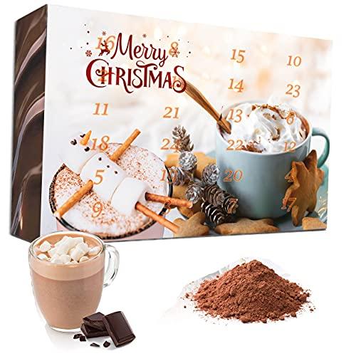 C&T Trinkschokolade Adventskalender 2021 - 24 Sorten italienische Kakao-pulver mit Verfeinerungstipps – The Coffee and Tea Company – detail 2