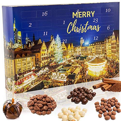 C&T Weihnachtsmarkt Adventskalender 2020Knusper-Weihnachtmarkt-Weihnachtskalender – 24 Knackige Spezialitäten. Neuinterpretationen der beliebten Weihnachtsmarkt Snacks für jedermann