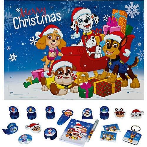familie24 Adventskalender Schreibwaren Auswahl Advent Kalender (Paw Patrol Boy)