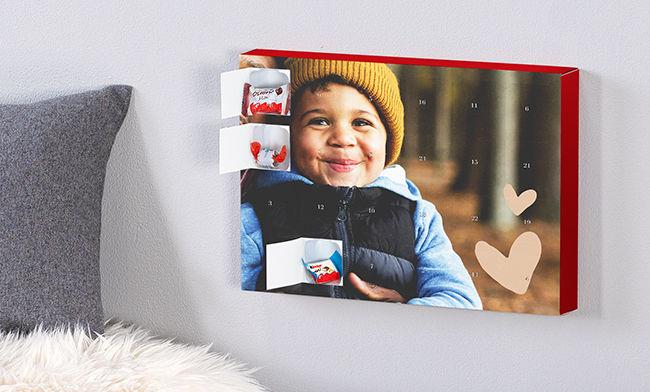 Foto-Adventskalender mit Schokolade von kinder 2020