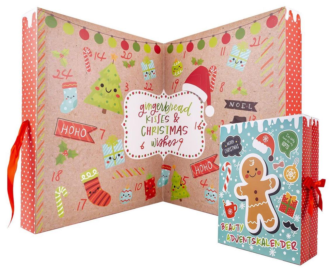 ACCENTRA Gingerbread Adventskalender für Mädchen & Frauen