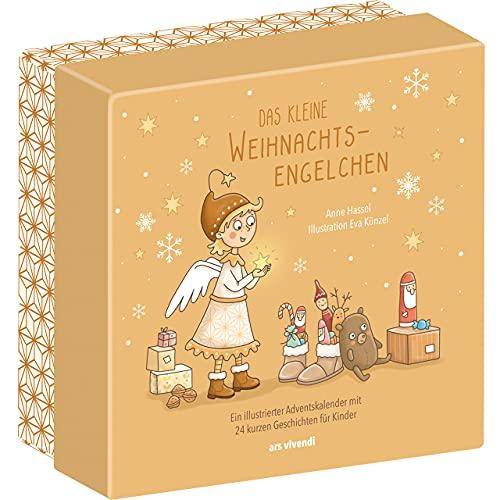 Das kleine Weihnachtsengelchen - Kinder-Adventskalender mit 24 kurzen Geschichten für Kinder ab 3 Jahren zum Lesen und Vorlesen