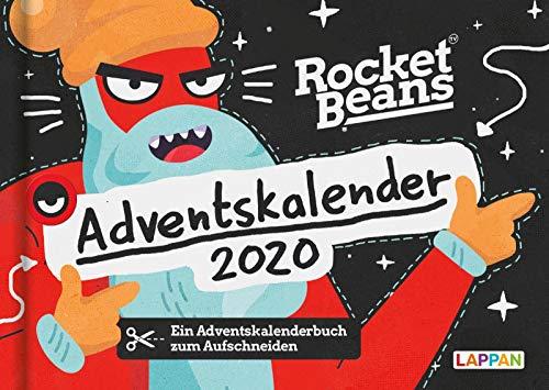 Der Rocket Beans Adventskalender: 24 Doppelseiten mit weihnachtlichen Überraschungen aus dem Team der Raketenbohnen
