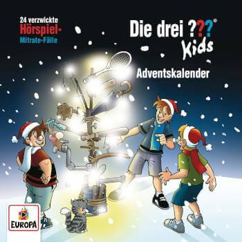 Die drei Fragezeichen Kids Adventskalender - 24 verzwickte Hörspiel-Mitrate-Fälle