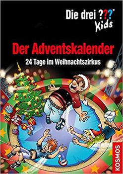 weltbild Die Drei ??? Weihnachtszirkus Adventskalender Buch