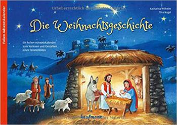 Die Weihnachtsgeschichte Folien-Adventskalender 2018