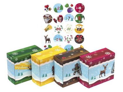 DIY Adventsboxen Set für Kinder