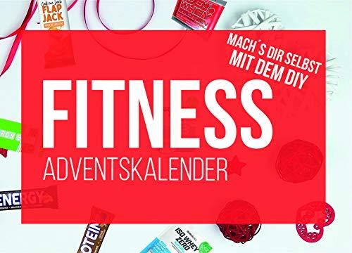 DIY Sport & Fitness Adventskalender 2020 - Inhalt zum befüllen für Fitness Kalender Ideen mit Riegel, Proteinriegeln, Proben, BCAA, Whey 24x Ideen für Männer Frauen als Geschenk
