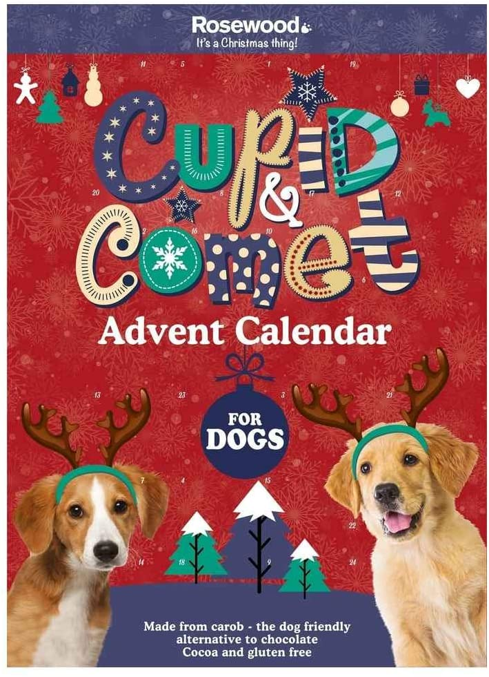 Cupid & Comet Advent Calendar for Dogs