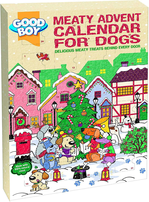 Meaty Advent Calendar for Dogs