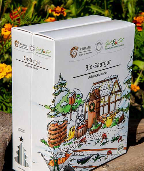 BIO Gemüse-Saatgut Adventskalender