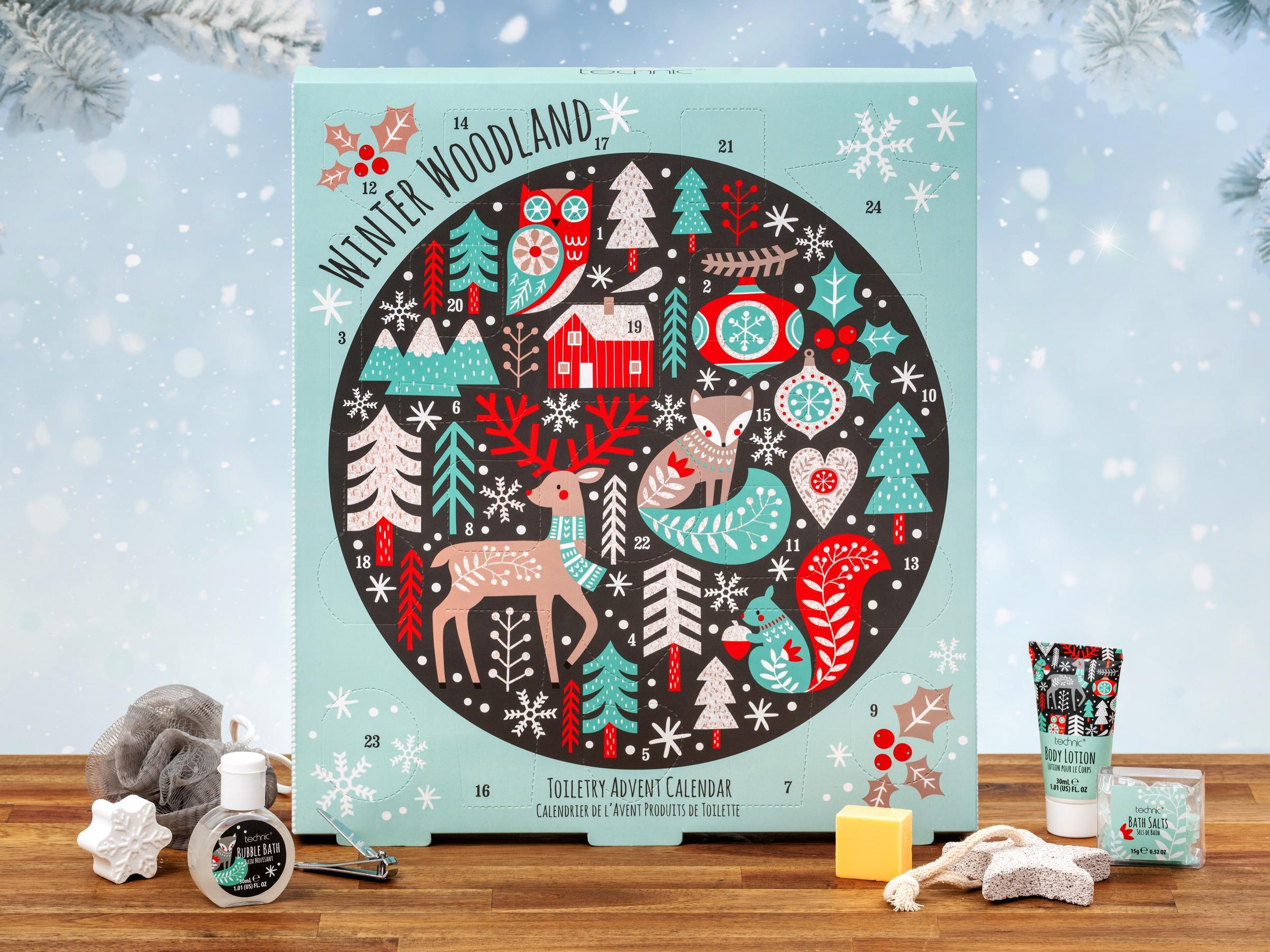 Winter Woodland Spa Adventskalender