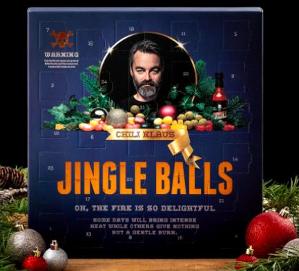 Chili Klaus Jingle Balls! Adventskalender 2020