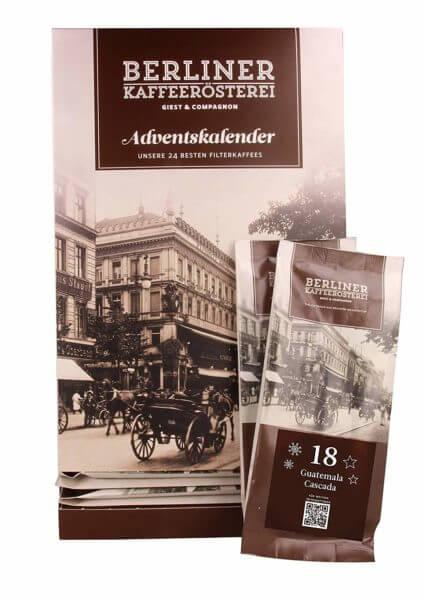 amazon Berliner Kaffeerösterei BKR Kaffee Adventskalender