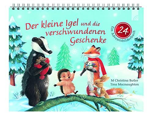 Der kleine Igel und die verschwundenen Geschenke: 24 (roter Button) Ein Adventsbilderbuch