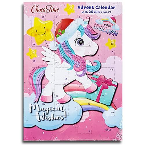 Unicorn Magical Wishes Adventskalender mit Schokolade
