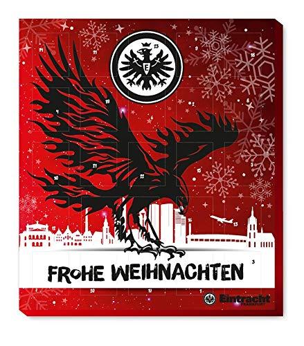 Eintracht Frankfurt Adventskalender 2020 Weihnachtskalender Premium mit Poster Kalender Bundesliga Fußball (7,95 € /100 g)