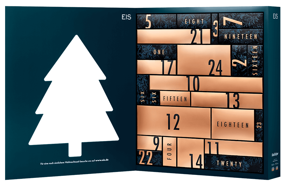 Eis Adventskalender Premium 2020