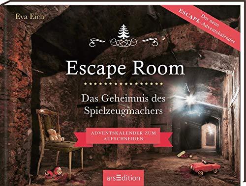 Escape Room Adventskalender - Das Geheimnis des Spielzeugmachers – Ars Edition – detail 1
